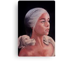 Mother Of Falcor Canvas Print