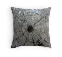 windshield glass in talkingrock Throw Pillow