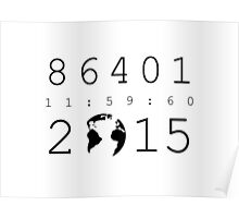 86401 Leap Second 2015 Poster