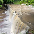 Alongside Anderson Falls by Kenneth Keifer