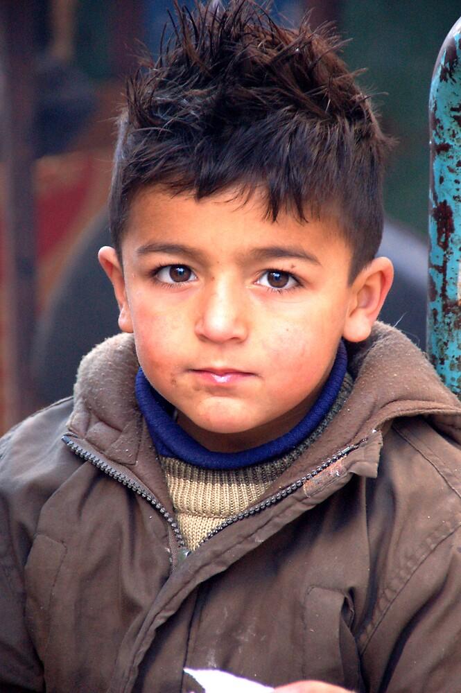 arab boy in bethlehem by johnnabrynn