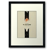 The Lord of the Rings: The Two Towers Framed Print