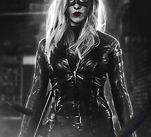 Arrow - Black Canary by Addemdial