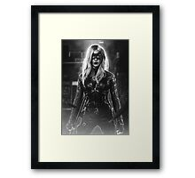 Arrow - Black Canary Framed Print