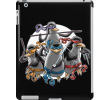 Teenage Mutants Paramilitary Penguins iPad Case/Skin