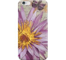 Moulin Floral 1 iPhone Case/Skin