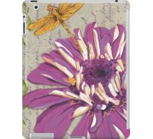 Moulin Floral 2 iPad Case/Skin