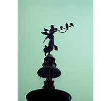 Peruvian Statue Fountain Photographic Print