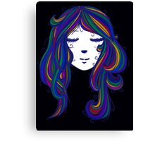 Peaceful Mind in Colours Canvas Print