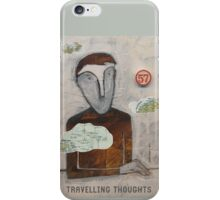 Travelling Thoughts iPhone Case/Skin