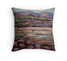 Granite Pastoral Throw Pillow