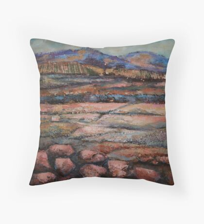 Granite Pastoral Throw Pillow