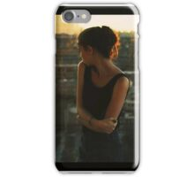 Trembling hands on the horizon iPhone Case/Skin
