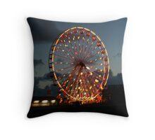 Blackpool Feris wheel Throw Pillow