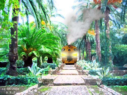 train by Areej27Jaafar