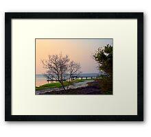 Morning on the Ocean Framed Print