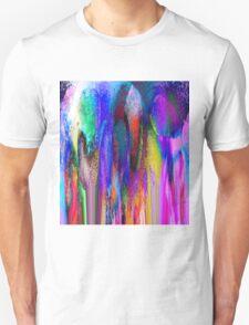 Autumn Cubist Garden T-Shirt