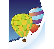 Air balloons in the sky Photographic Print