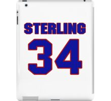 National baseball player Sterling Hitchcock jersey 34 iPad Case/Skin