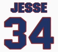 National baseball player Jesse Jefferson jersey 34 by imsport