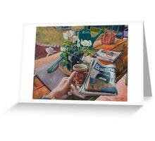 Saturday Morning Greeting Card