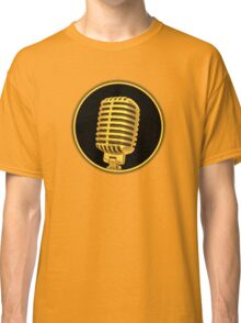 Vintage Gold Microphone Classic T-Shirt
