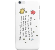 Child Of The Universe Phone Case iPhone Case/Skin