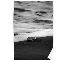 Turning Tide - Kai Iwi Beach, Wanganui, NZ Poster