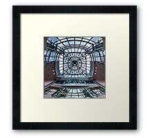 Metro Hall 2 Framed Print