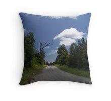cloud days Throw Pillow