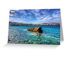 Chora Old Port Greeting Card