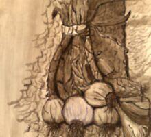 garlic's flavor by zangi12