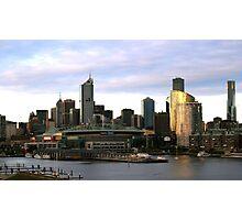 Melbourne Docklands Photographic Print