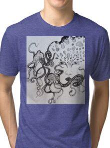 Facing Depths Tri-blend T-Shirt