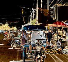 Tuk Tuk - Chiang Saen, Thailand by Stephen Permezel