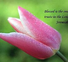 Blessed Is The One by Marie Sharp