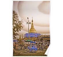 Chedi - Burma Poster