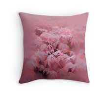 abstract of Japanese Maple Throw Pillow