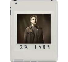 jd 1989 iPad Case/Skin