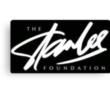 Stan Lee Foundation Logo Canvas Print