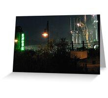 Bethlehem Steel Mill Transformers 2 Greeting Card