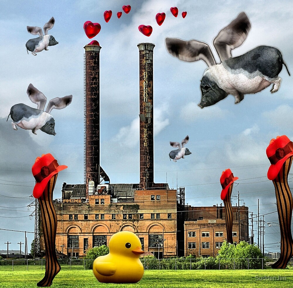 When Pigs Fly by SuddenJim