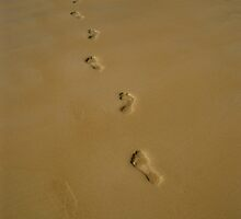 Foot Prints by CaptureRadiance