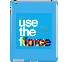 Star Wars: Use the Force iPad Case/Skin