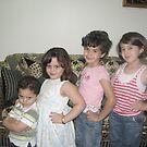 Omar, Noor, Alaa, Aya by Areej27Jaafar