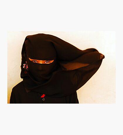 African Ninja girl Photographic Print