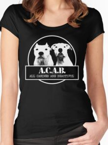 ACAB Women's Fitted Scoop T-Shirt