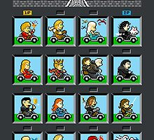 Karts of Thrones: A RACE OF ICE AND FIRE by jangosnow