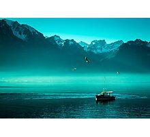 Montreux Lake Photographic Print