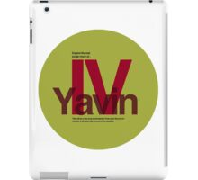 Star Wars: Yavin IV iPad Case/Skin